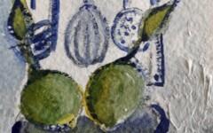 La cuisine, ustensiles et citrons