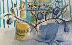 Huile d'olives 14x8