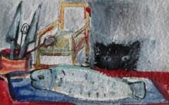 La cuisine, Le chat et le poisson