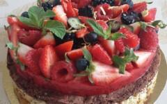 Gâteau super light - 6 personnes