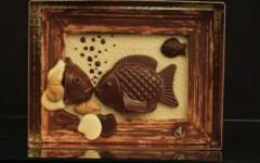 Sujets de fête en chocolat