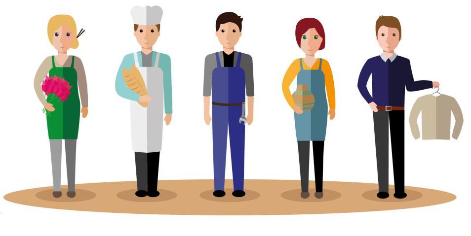 agriculteur, artisan, commerçant, commerçant ambulant, entreprise de services… Vous avez compris l'intérêt de vendre sur Internet pour gérer automatiquement vos commandes et vos livraisons.