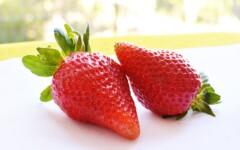 Tarte aux fruits rouges - la part