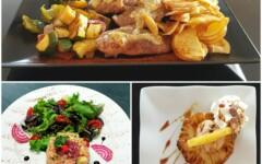 Formule complète entrée + plat + dessert jour