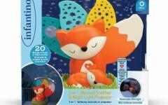 INFANTINO - Veilleuse projecteur renard 3 en 1