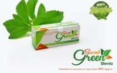 Boite de tisane de fleurs et feuilles de stevia