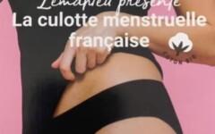 Culotte menstruelle coton bio
