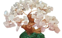 Bonsaï en Quartz rose