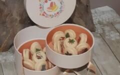 Boite coffret de Noël 14 macarons editon Noël