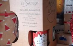 Bières La Sauvage Box cadeau 3x33cl + 1 verre La Sauvage