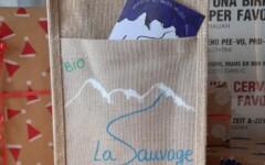 Bières La Sauvage Sac cadeau 4x75cl