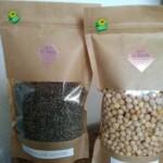 Lot de 3 : Lentilles vertes – Lentilles corail – pois chiche