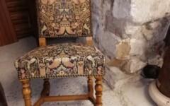 Lot de chaises Louis XIII