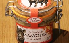 Terrine de Sanglier au Romarin 200g – Maison Telme