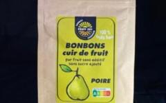 Bonbons cuir de fruit poire