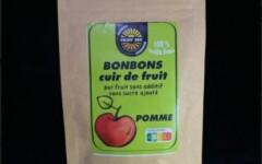 Bonbons cuir de fruit pomme