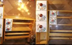 Joli fleuri serviteur d'épices avec distributeur aluminum et film alimentaire