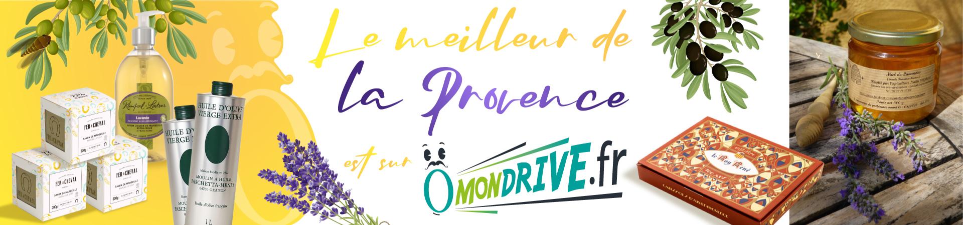 Produits made in Provence à acheter sur Ondrive
