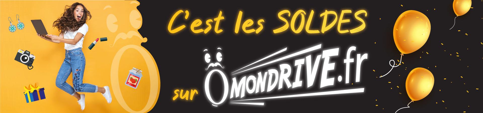 Tous les produits en SOLDE sur Omondrive.fr