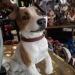 Statue chien