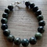 BRACELETS - ONLY AGATE AFRICAINE FONCEE